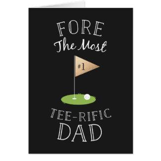 Fête des pères de Pièce en t-rific Carte De Vœux