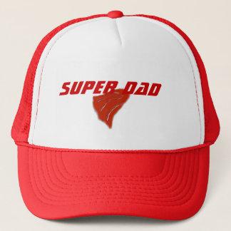 Fête des pères heureuse, casquette superbe de papa