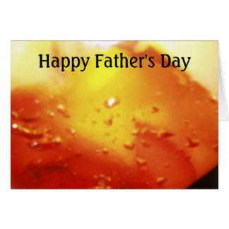 Fête des pères heureuse (pour n'importe qui) carte