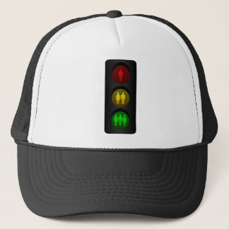 Feu de signalisation casquette