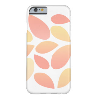 Feuille d'aquarelle coque barely there iPhone 6