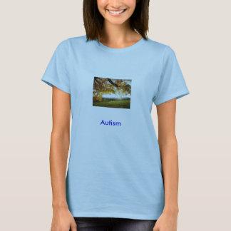 Feuille d'automne, autisme t-shirt
