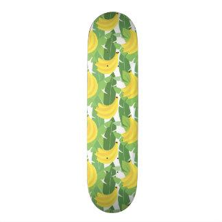 Feuille de banane et motif de fruit skateboard old school 18,1 cm