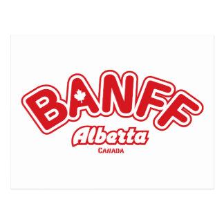 Feuille de Banff Carte Postale