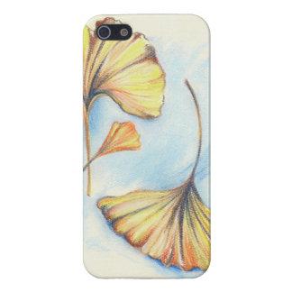 Feuille d'or de Ginkgo d'automne Coques iPhone 5