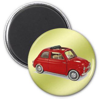 fiat500 magnet rond 8 cm