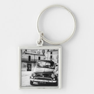 Fiat 500 en rétros cadeaux de voyage de l'Italie Porte-clés