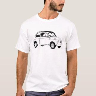 Fiat 500 geïnspireerde t-shirt