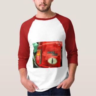 Fiat de T-shirt van 500 3/4 Sleeve