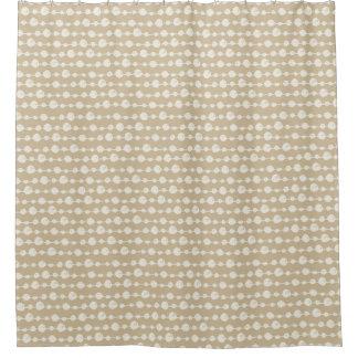 Ficelles de rideau en douche de perles