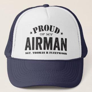 Fier de mon aviateur casquette