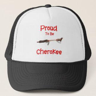 Fier d'être cherokee casquette