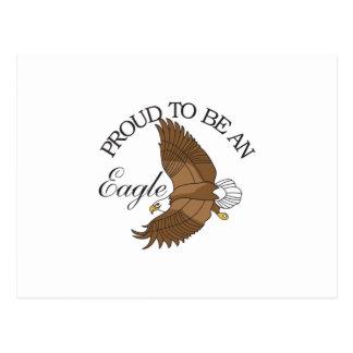 Fier d'être Eagle Carte Postale