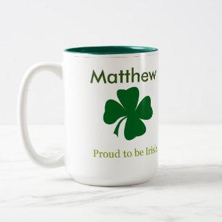 Fier d'être tasse de café personnalisée par