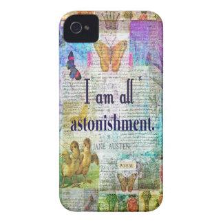 Fierté de Jane Austen et citation de préjudice Coque iPhone 4