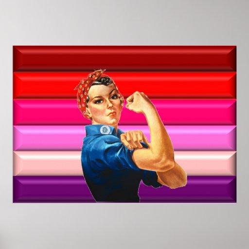 Fierté lesbienne poster