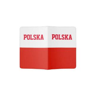Fierté polonaise du support | Pologne de passeport Protège-passeports