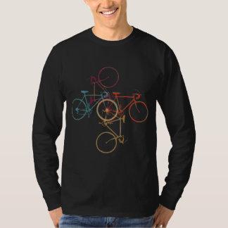fiets. de kleding van de fietsstijl t shirt