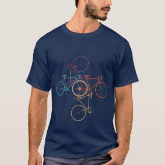 Fiets die - cirkelen die - biking t shirt