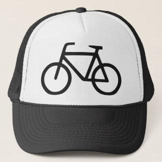 fiets logo trucker pet