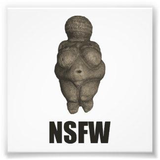 Figurine préhistorique de NSFW Vénus Tirages Photo