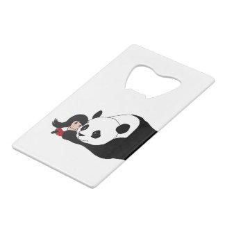 Fille et panda