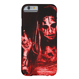 Fille morte déplaisante coque iPhone 6 barely there
