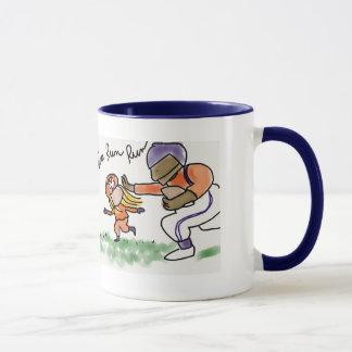 Fille mug6 du football mug