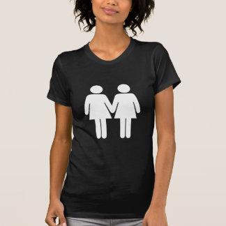 Fille + Tee - shirt d'obscurité de fille T-shirt