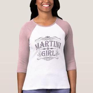 Fille vintage de Martini T-shirt