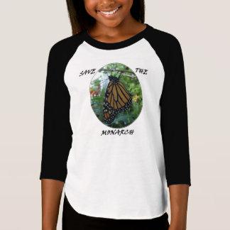 Filles 3/4 T-shirt de douille, style #1 de
