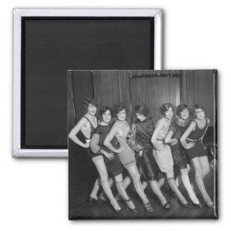 Filles d'aileron : 1925 magnet carré
