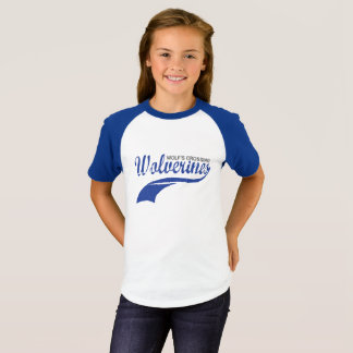 Filles de raglan de base-ball de Wolverines T-shirt