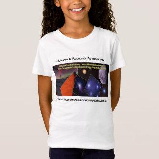 Filles Oldham et T-shirt d'astronomie de Rochdale