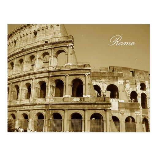 Fin de Colisé de Rome Carte Postale