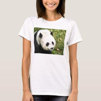 Fin de panda géant vers le haut de portrait