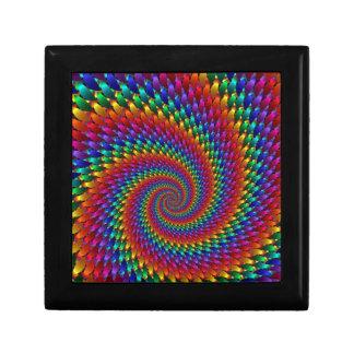 fin de support d'abtrato d'imagem espiral coffrets cadeaux