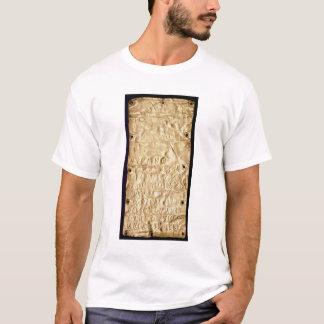 """Fine couche d'or avec la """"brève"""" inscription t-shirt"""