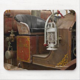 Firetruck antique tapis de souris