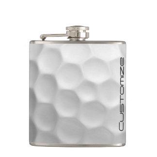 Flacon de boule de golf avec le nom personnalisé