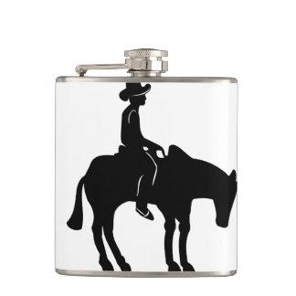 Flacon de cowboy et de cheval !