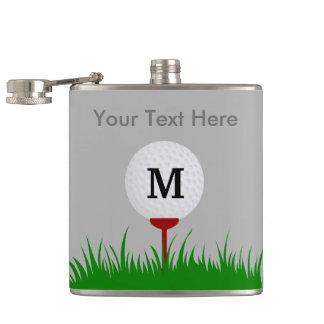 Flacon personnalisé de boule de golf de monogramme