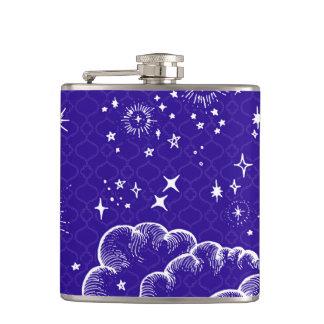 """Flacon potable de """"lune et d'étoiles"""" (WH/BLU/PUR)"""