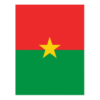 flag_burkina_farso carte postale