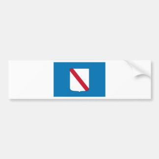 Flag_of_Campania Autocollant De Voiture