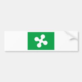Flag_of_Lombardy. Autocollant De Voiture