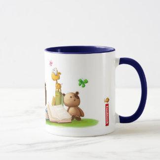 Flair de livre mug