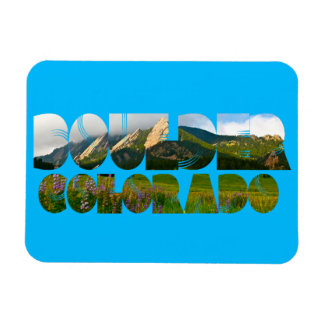 Flairons, Boulder le Colorado Magnet Flexible