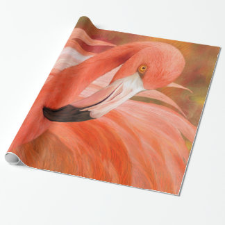 Flamant - esprit d'art Giftwrap d'équilibre Papiers Cadeaux