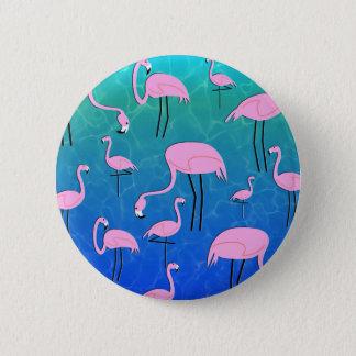FlamingoPond Badge Rond 5 Cm